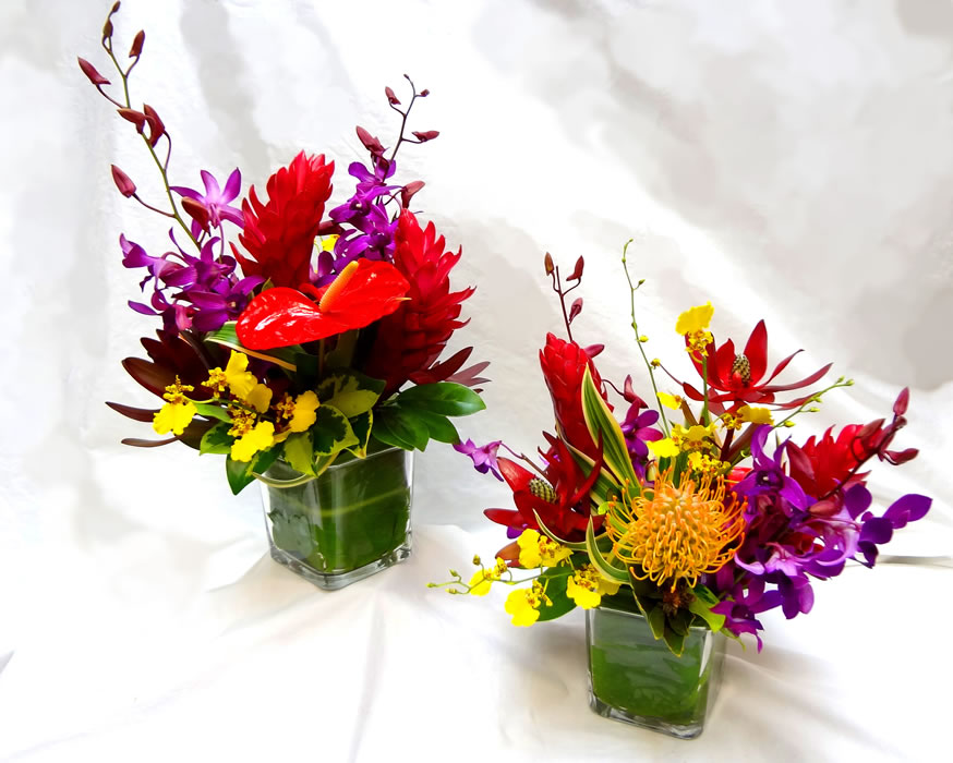 Tropical arrangements a special touch florists serving