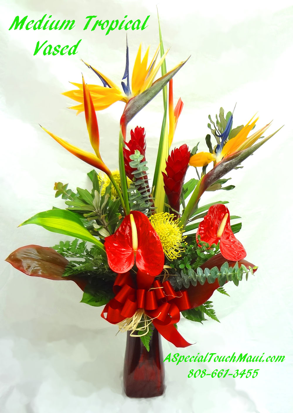 Sympathy Flowers A Special Touch Florists Serving Lahaina And