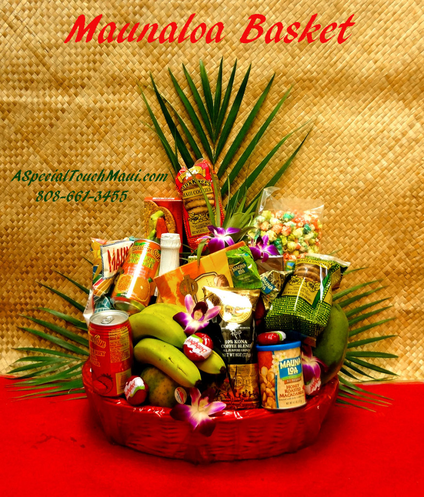 Gift Baskets - A Special Touch Florists: serving Lahaina and West ...